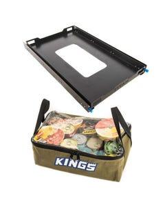 Adventure Kings Titan Large Fridge Slide + Clear Top Canvas Bag