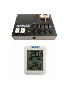 12V Control Box + Wireless Fridge Thermometer