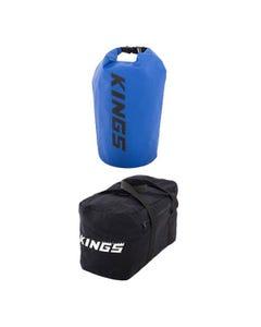 Adventure Kings 40L Duffle Bag + 15L Dry Bag