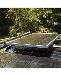 Kings 160w Fixed Solar Panel | 9.1A Output | Grade A cells | Tempered Glass | Vehicle mountable