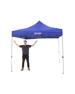 Kings 3x3m Portable Gazebo | Heavy Duty Steel Frame | UPF50+ | Waterproof | 420D Coated polyester