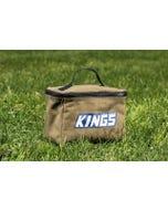 Kings 400GSM Canvas Toiletry Bag | Storage | Organisation | Heavy-duty zip & handle
