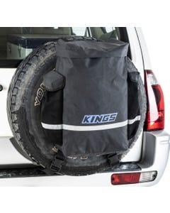 Kings Premium 48L Dirty Gear Bag | 400GSM PVC | 2 Side Pockets | Heavy Duty Finish