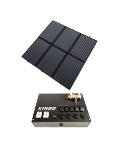 Adventure Kings 200W Solar Blanket with MPPT + 12V Control Box