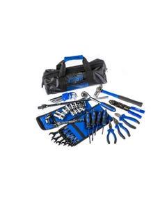 Essential Bush Mechanic Toolkit | 44 Pieces | Spanners, Sockets, Pliers & More | Inc. Storage Bag | Adventure Kings