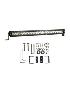 """Kings 20"""" LETHAL MKIII Slim Line LED Light Bar + Sliding Brackets for Slim Line Light Bars (Pair)"""