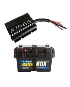 Adventure Kings 20AMP DC-DC Charger + Battery Box