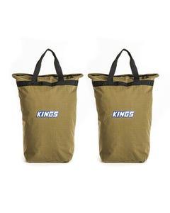 2x Adventure Kings Doona/Pillow Canvas Bag
