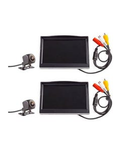 """2x Adventure Kings Reverse Camera Kit with 5"""" Screen"""