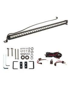 """Kings 30"""" LETHAL MKIII Slim Line LED Light Bar + Wiring Harness + Sliding Brackets for Slim Line Light Bars (Pair)"""