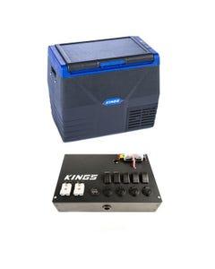 Kings 35L Fridge / Freezer + 12V Control Box