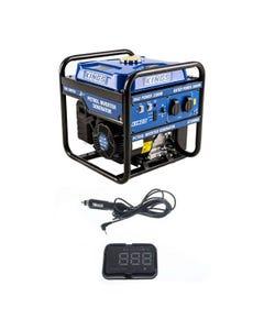 Adventure Kings 3.0kVA Inverter Generator + Heads Up Display (HUD) Unit