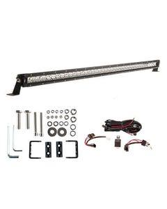 """Kings 40"""" LETHAL MKIII Slim Line LED Light Bar + Wiring Harness + Sliding Brackets for Slim Line Light Bars (Pair)"""