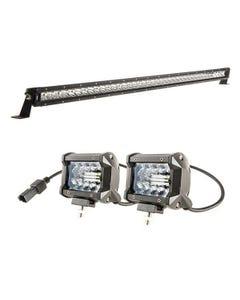 """Kings 40"""" LETHAL MKIII Slim Line LED Light Bar + 4"""" LED Light Bar"""