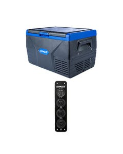 Kings 50L Fridge / Freezer + 12V Accessory Panel