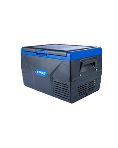 Kings 50L Portable Fridge/Freezer | 12v/24v/240v | -18c to +10c | Reversible Lid