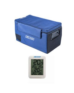 Wireless Fridge Thermometer + 75L Fridge Cover