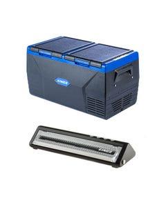 Kings 75L Dual Zone Fridge / Freezer + Adventure Kings Vacuum Sealer