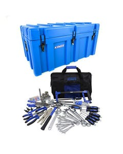 Adventure Kings 156L Storage Box + Tool Kit - Ultimate Bush Mechanic