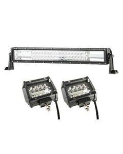 """Adventure Kings Domin8r 22"""" LED Light Bar + 4"""" LED Light Bar"""