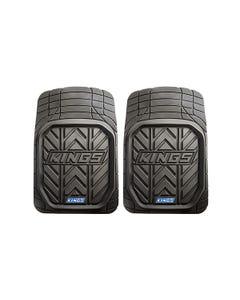 Kings Premium Heavy-Duty Floor Mats (Pair) | Universal Anti-Slip Design | Pre-Moulded Cut Lines