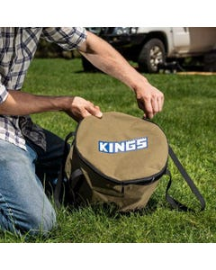 Kings Camp Oven 400GSM Canvas Bag | Suits Bedourie & Aussie Ovens | Heavy Duty