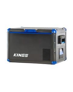 Kings 60L Stayzcool Fridge / Freezer   SECOP Compressor   Fits 101 Cans