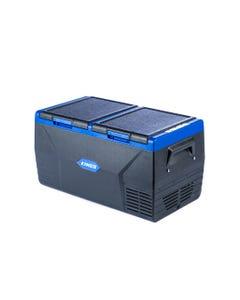 Kings 75L Portable Fridge & Freezer | Dual Zone | 12v/24v/240V | -18c to +10c | Internal Light