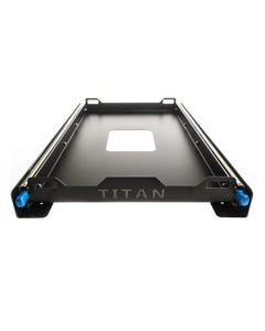 Titan Fridge Slide Small | Suits Up To 50L Fridges | Twin Locking Runners | Heavy-Duty
