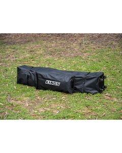 Kings 4.5x3m Wheeled Gazebo Bag | Tough Wheels & Re-Inforced Base | Easy One-Person Transport