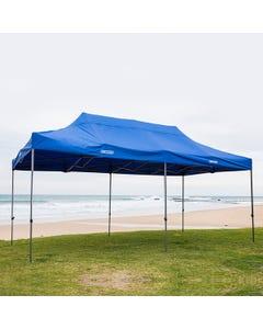 Kings 6x3m Portable Gazebo | Heavy Duty Steel Frame | UPF50+ | Waterproof | 420D Coated polyester