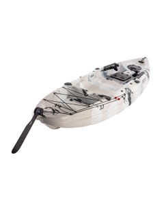 Kings 3.3m Pro Fishing Kayak | 175kg Weight Rating | Foot-Controlled Rudder