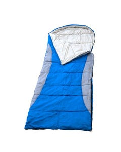Kings Hooded Sleeping Bag | Rated to -2° | Left-Hand Zipper | Machine Washable