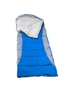 Kings Hooded Sleeping Bag | Rated to -2° | Right-Hand Zipper | Machine Washable