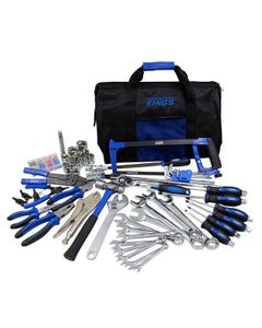 Kings Ultimate Tool Kit | 150+ Pieces | Portable | Perfect For Your Vehicle