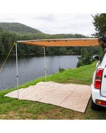 2 x 3m 2 in 1 Awning + Strip Light | UPF50+ | LED Light |Mounting Kit Included