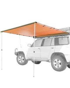 Kings 2.5x2.5m Side Awning | UP50+ | 170gsm Waterproof | Suits All Vehicles