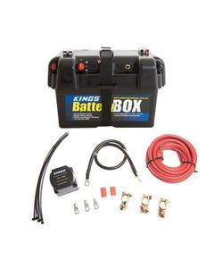 Adventure Kings Battery Box + Dual Battery System