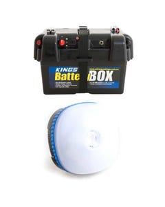 Adventure Kings Battery Box + Mini Lantern