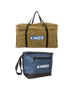 BBQ Canvas Bag + Adventure Kings Cooler Bag