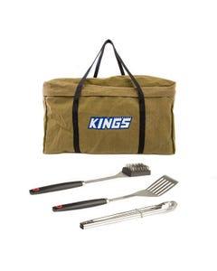 BBQ Canvas Bag + BBQ Tool Set
