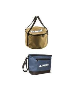 Adventure Kings Camp Oven Canvas Bag + Cooler Bag
