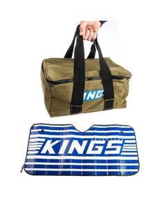 Adventure Kings Canvas Recovery Bag + Sunshade