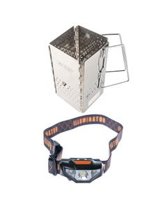 Adventure Kings Charcoal Starter + LED Head Torch