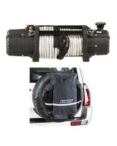 Domin8r Xtreme 12,000lb Winch + Kings Premium 48L Dirty Gear Bag
