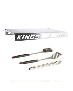 Adventure Kings Drawer Table suitable for 900mm & 1300mm Titan Drawers + BBQ Tool Set