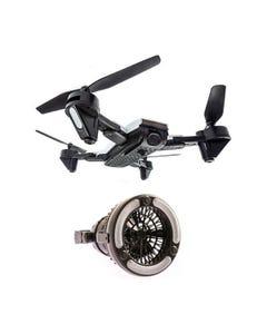 Adventure Kings Cyclone Drone + 2in1 LED Light & Fan