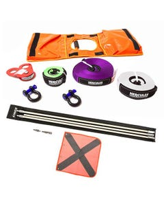 Hercules Essential Nylon Recovery Kit + Adventure Kings 3m Sand Safety Flag