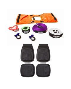 Hercules Essential Recovery Kit + 4 Pack Kings Deep Dish Floor Mats