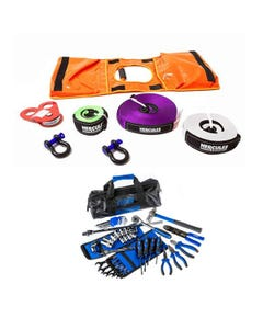 Hercules Essential Nylon Recovery Kit + Essential Bush Mechanic Toolkit